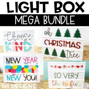 Light Box Inserts Mega Bundle