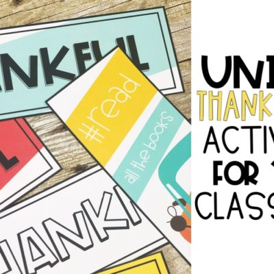 Thanksgiving Activities & Freebies